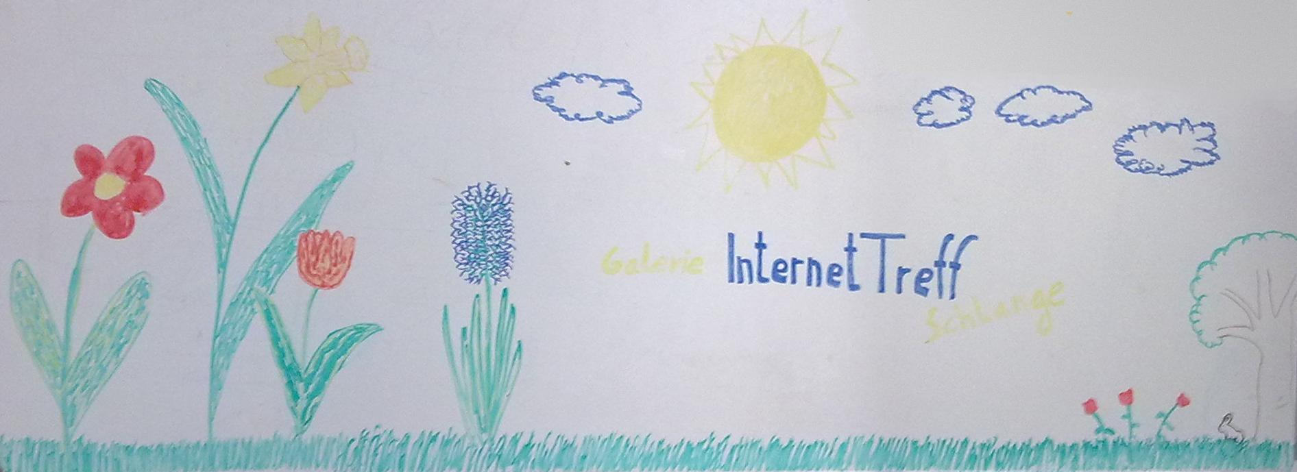 Frühling in der Galerie InternetTreff Schlange