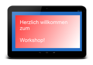 Tablet-Workshop