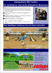 Wii-Turnier-Einladung