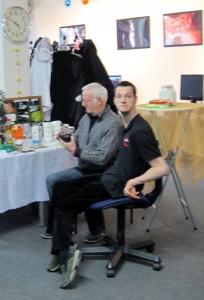 Foto Sven mit Vater