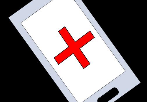 Smartphone-Notebook-Sprechstunde