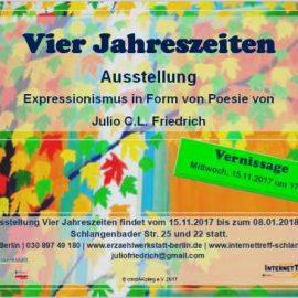 Ausstellung Julio Friedrich – Vier Jahreszeiten