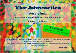 Ausstellung Julio Friedrich