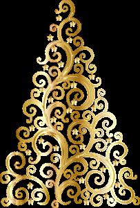 gold-weihnachtsbaum